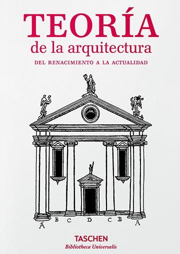 Teoría de la arquitectura....