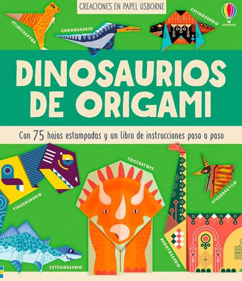 Dinosaurios en origami ·...