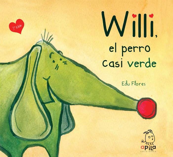 Willi, el perro casi verde