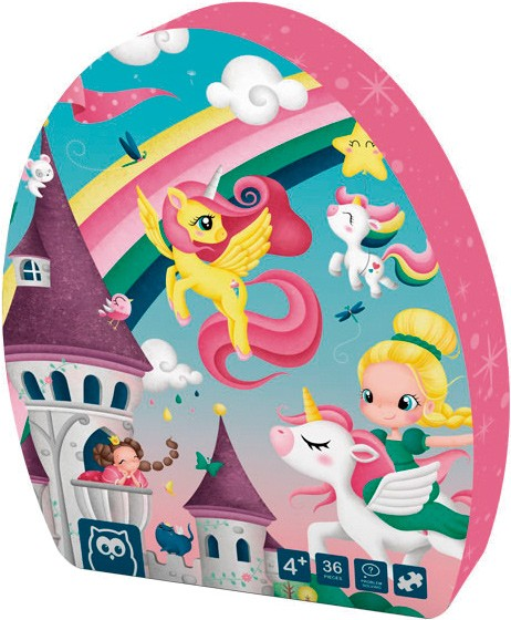Puzzle magic pony 36 piezas...