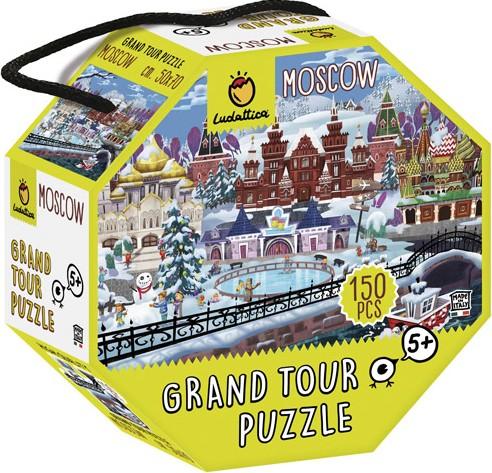 Puzzle gran tour - Moscú...