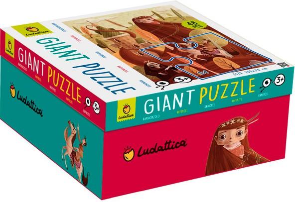 Giant puzzle. Rapunzel