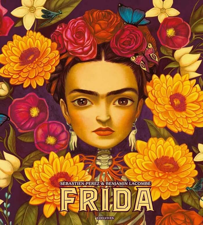 Frida. Benjamin Lacombe