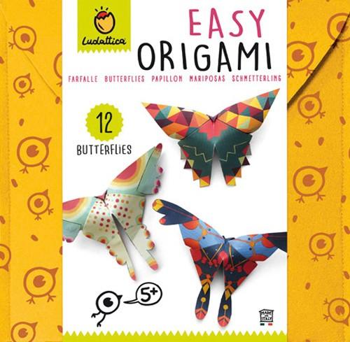 Origami fácil - Mariposa (5+)