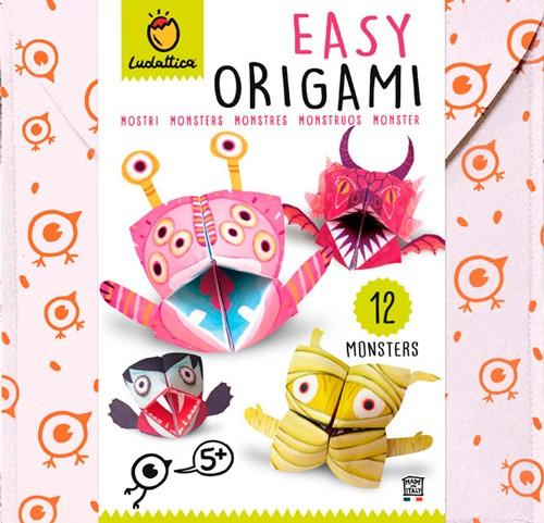 Origami facil - MONSTRUOS (5+)