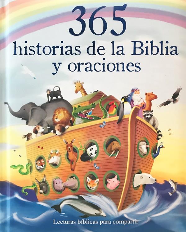 365 historias de la Biblia...