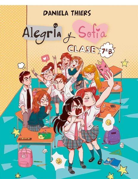 Alegría y Sofia. Clase 7ºB