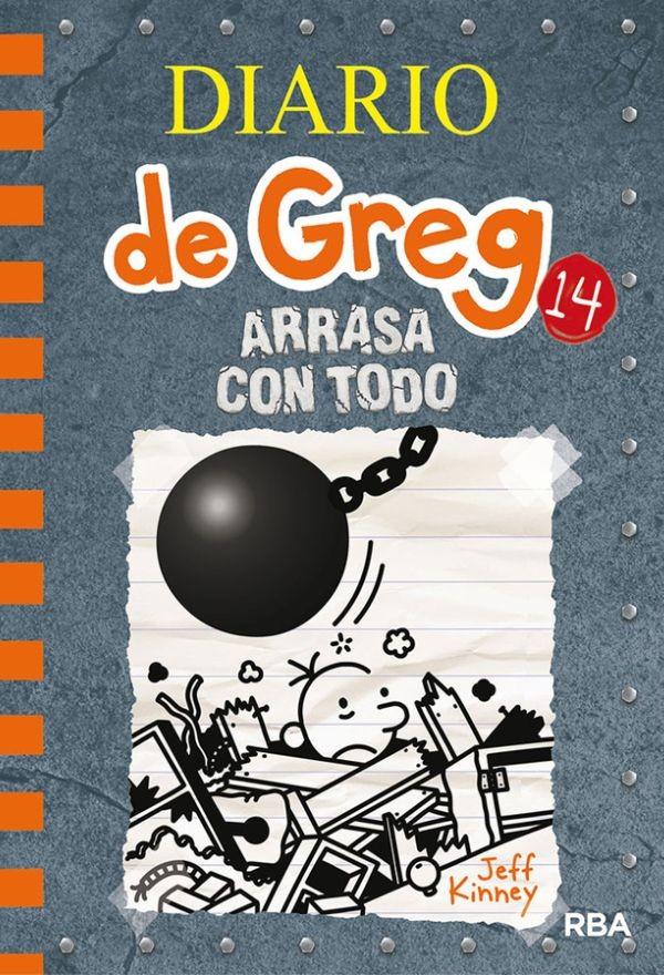 Diario de Greg 14. Arrasa...
