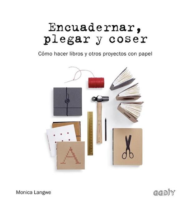Encuadernar, plegar y coser