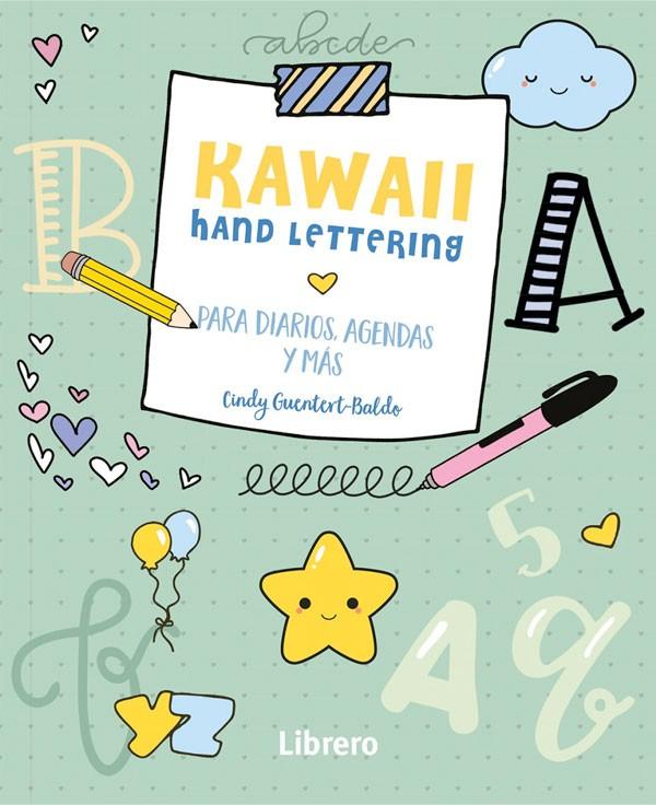 Kawaii. Hand lettering