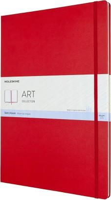 Cuaderno de dibujo / A3 / Rojo