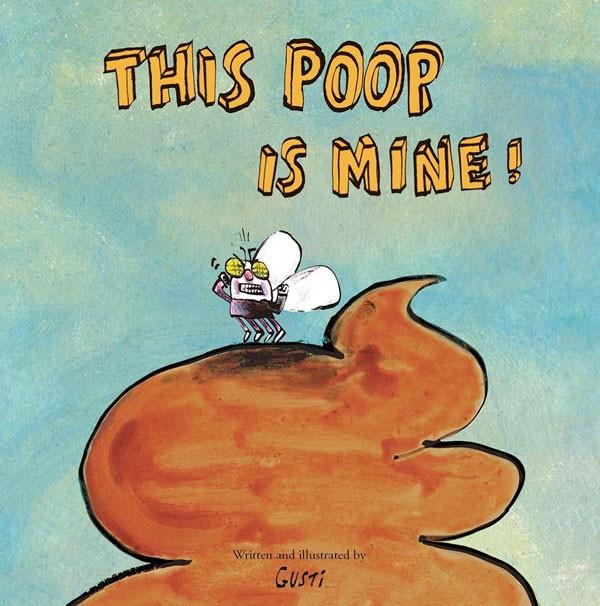 This poop is mine!