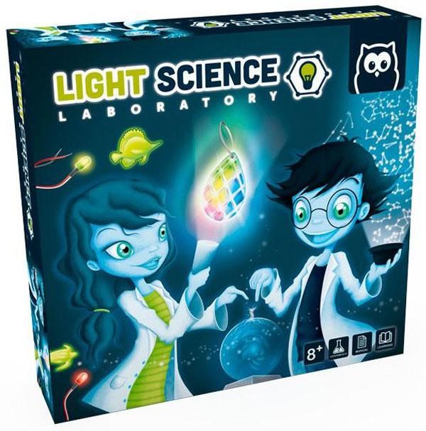 Light science. Laboratorio...