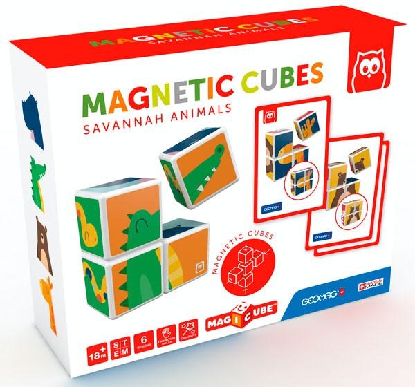 Cubos magnéticos animales