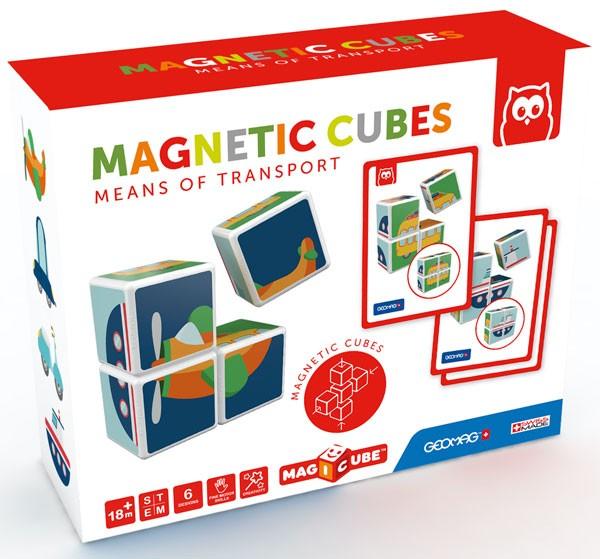 Cubos magnéticos transportes