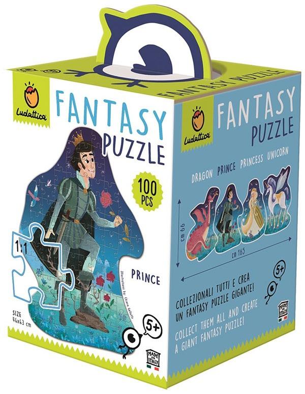 Fantasy puzzle. Príncipe