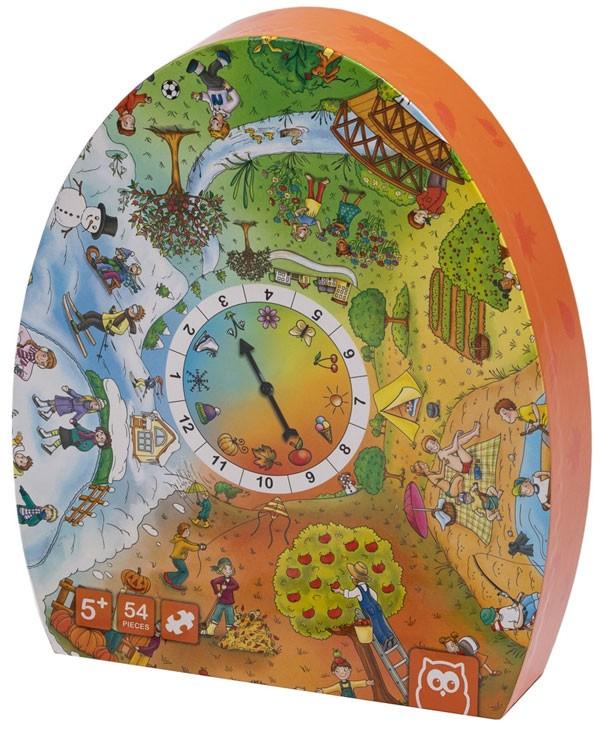 Puzzle esférico 4 estaciones