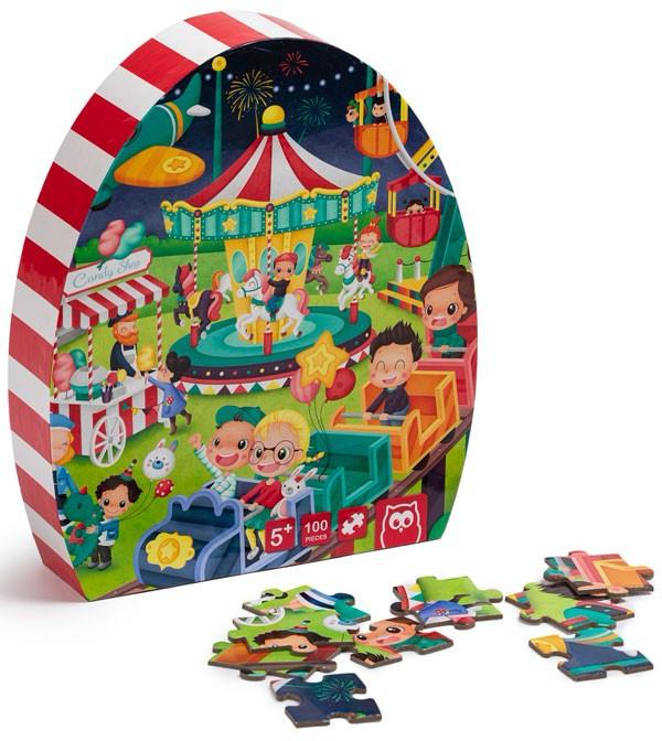 Puzzle parque de...