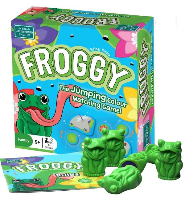 Froggy, el juego saltarín