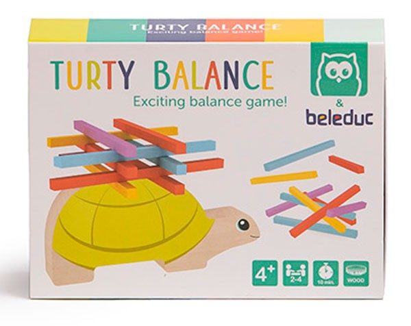 Juego de equilibrio. Turty...