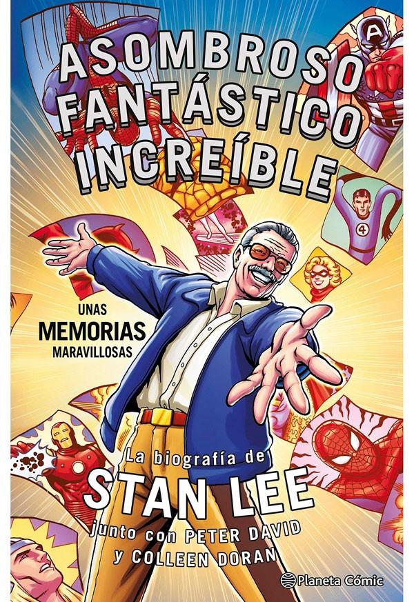Stan Lee. Asombroso...