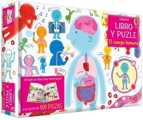 Libro y puzzle  - El cuerpo...