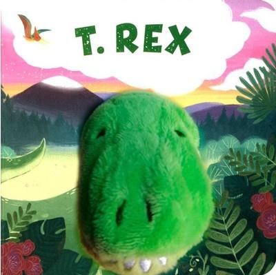 Libro con titere · T-Rex