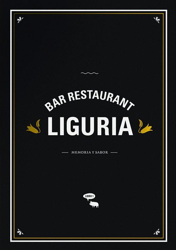 Bar restaurant Liguria