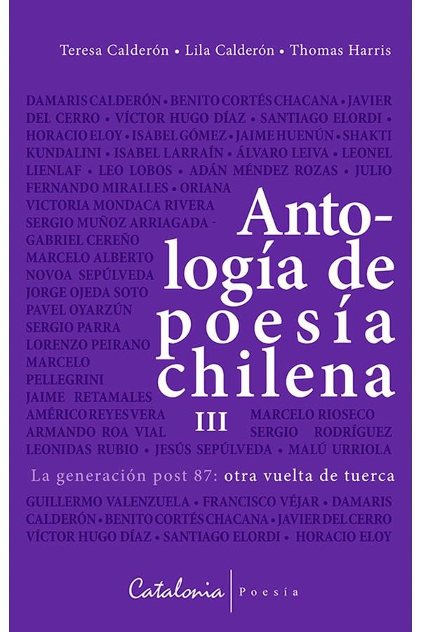 Antología de poesía chilena...