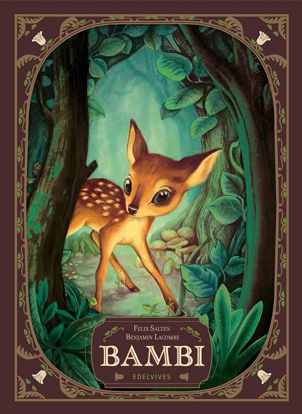 Clásicos Ilustrados. Bambi,...