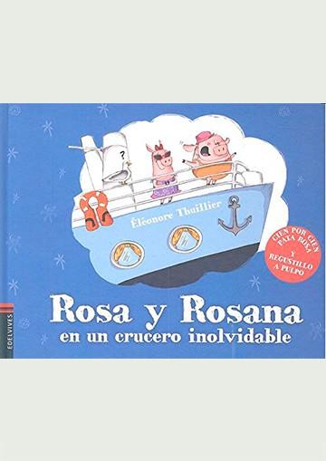 Rosa y Rosana en un crucero...