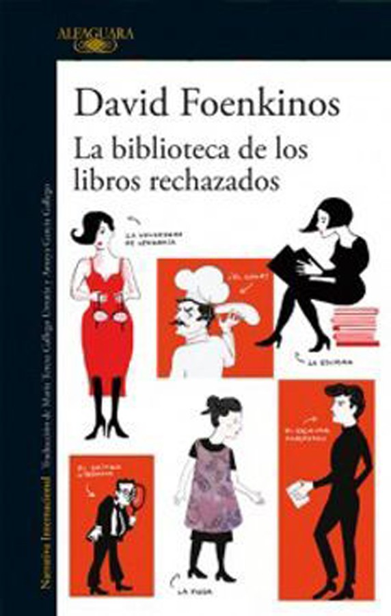 La biblioteca de libros...
