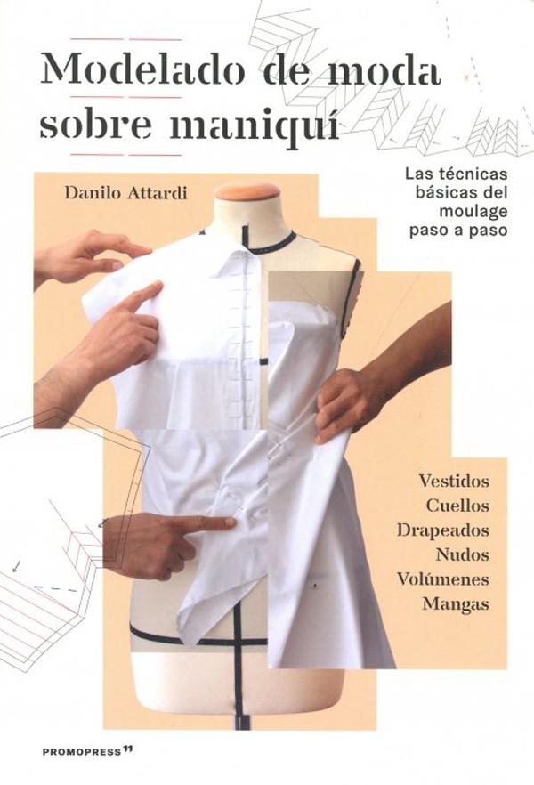 Modelado de moda sobre maniqui