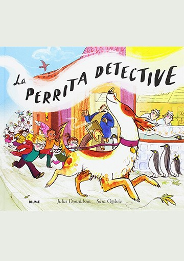 La perrita detective
