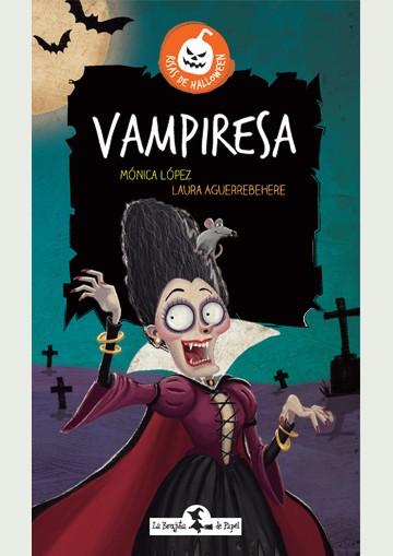 Vampiresa - Risas de halloween