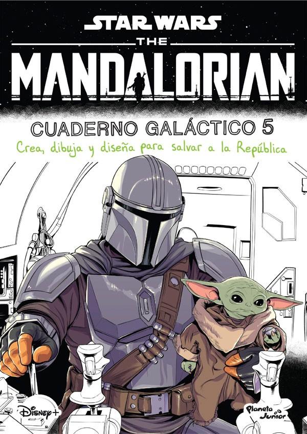 The Mandalorian cuaderno...