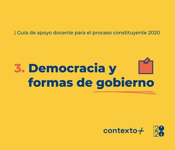 Democracia y formas de...