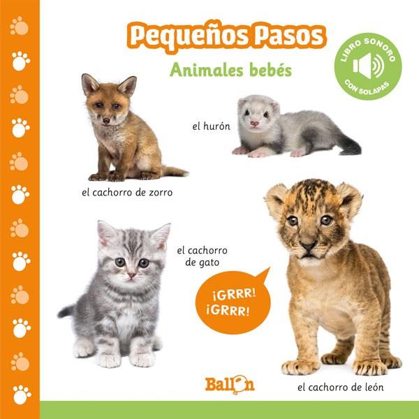 Animales Bebés. Libro sonoro
