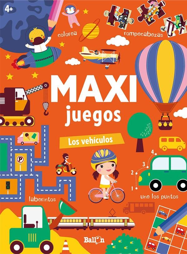 Maxi Juegos. Vehículos