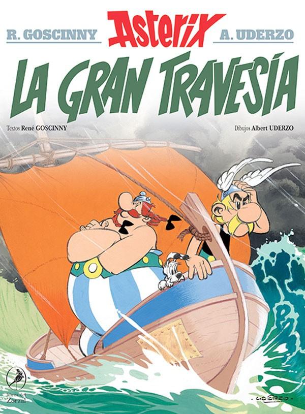 La gran travesía. Asterix 22