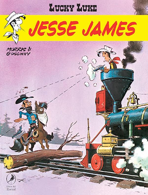Jesse James. Lucky Luke 20
