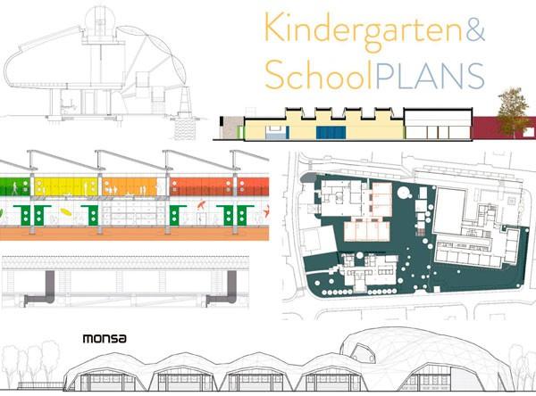 Kindergarten & School. Plans