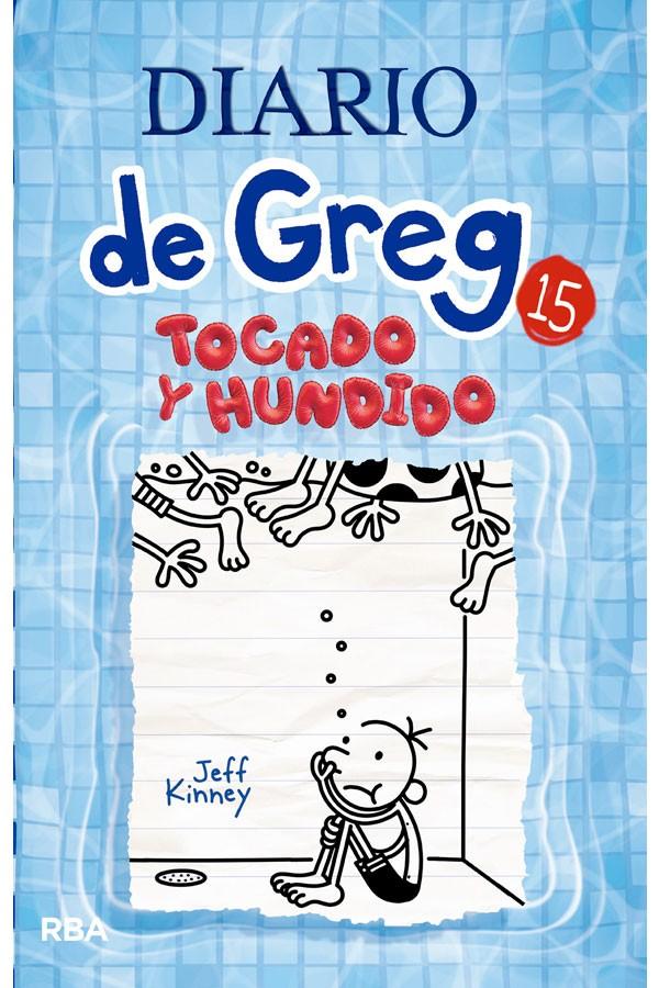 Diario de Greg 15: Tocado y...