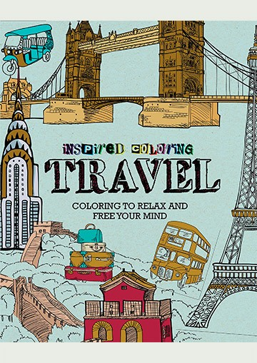 Inspired Coloring. Travel