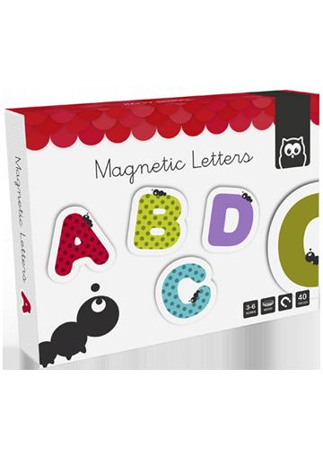 Magnetic Letters. 40 Piezas