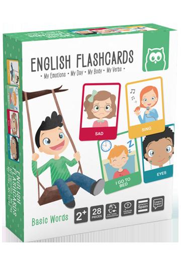 English flashcards....
