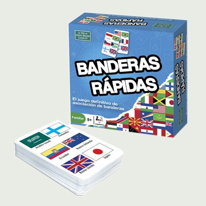 Green board game - Banderas...