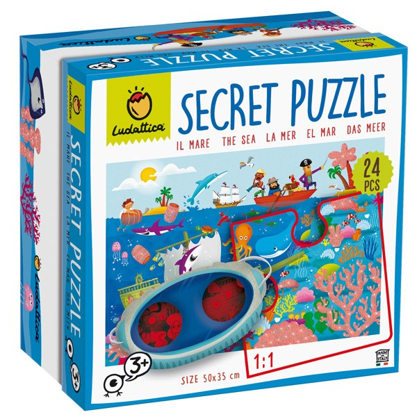 Puzzle secreto. El mar 24...