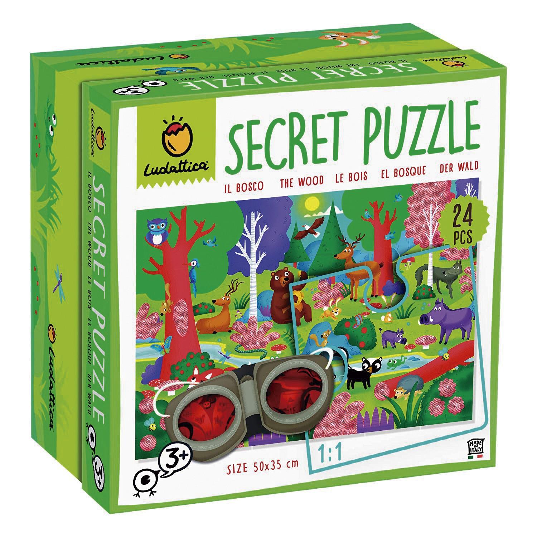 Puzzle secreto. El bosque...
