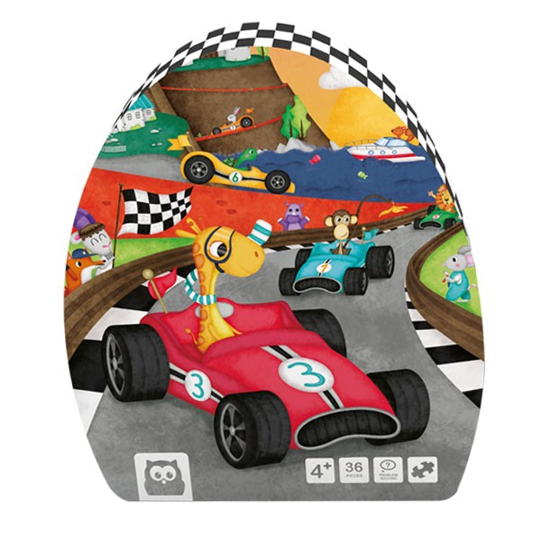 Puzzle racing